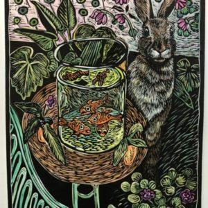annemie-odendaal-handpainted-linocut-matisse-bunny.jpg